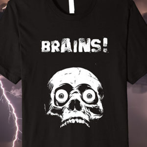 Living Dead Zombie Halloween T-shirt Brains