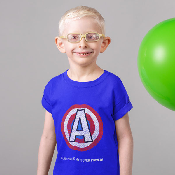 Albinism is my super power -t-shirt