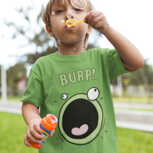 Kids Funny Burp T-Shirt